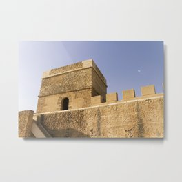 Castle of memories - Photo-Photo Deco city sevilla Metal Print