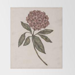 Mountain Laurel Throw Blanket