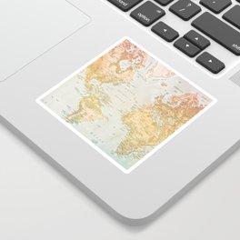 Pastel World Sticker