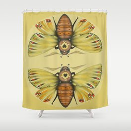 Moth n. 1 (ORIGINAL SOLD). Shower Curtain