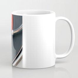 Red Vinyl Record Coffee Mug
