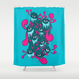 Of The Beholder V2 Shower Curtain