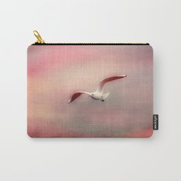 Seagull flying Carry-All Pouch
