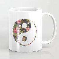 yin yang Mugs featuring Yin Yang by Hipster
