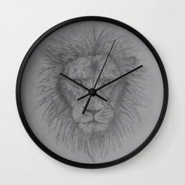 why u always lion. Wall Clock