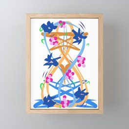 Abstract Garden #3 Framed Mini Art Print