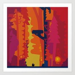 Hommage to Chris Art Print