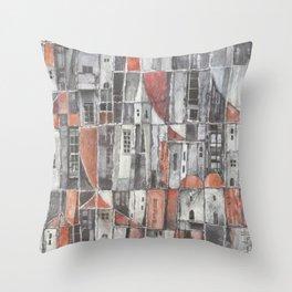 Signos urbanos N° 6 Throw Pillow