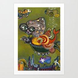 Star Hopping Art Print