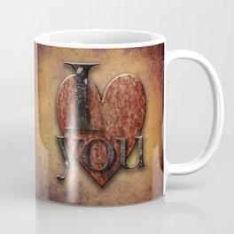 I Love You - Steampunk Valentine Coffee Mug