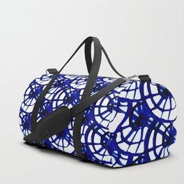 Shibori Curly Maze Duffle Bag