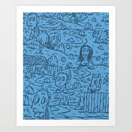 Upward Art Print