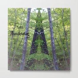 Tree Awakening Metal Print