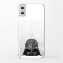 Darth Vader Bottom Clear iPhone Case