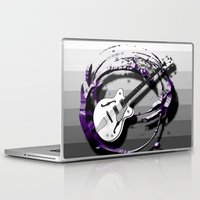 bass Laptop & iPad Skins featuring Music - Bass by yahtz designs