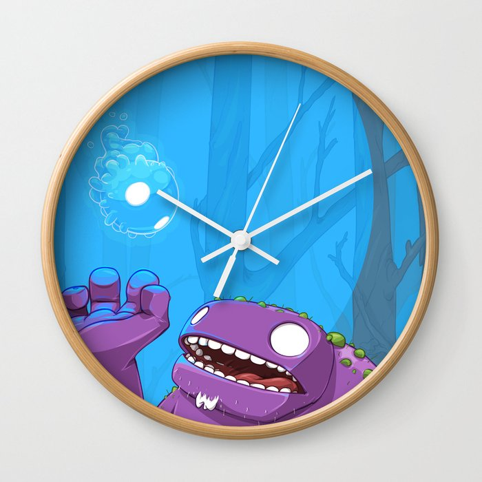 Ghost of Mello Marsh Wall Clock