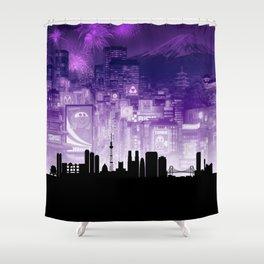 Tokyo Shower Curtain