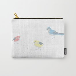Little Birds (Primary Colors) Carry-All Pouch