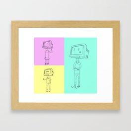 LAN Party Framed Art Print