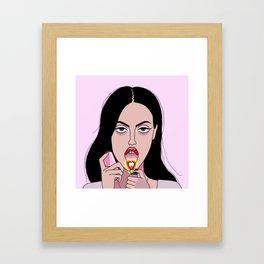 Jennifer's Body Framed Art Print