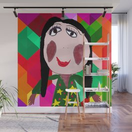My Mother Azima Liana | Painting by Elisavet | Kids Painting | Kids Room Wall Mural