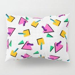90's Geometric Print Pillow Sham
