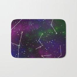 Galaxy Constellation Bath Mat