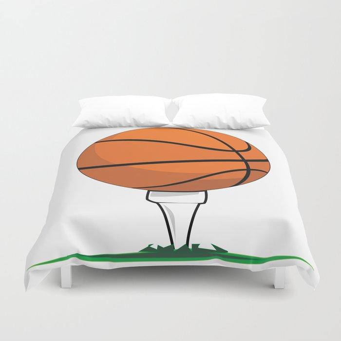 Basketball Tee Duvet Cover