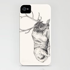 Stag // Graphite Slim Case iPhone (4, 4s)
