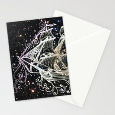 The Great Sky Ship II Stationery Cards