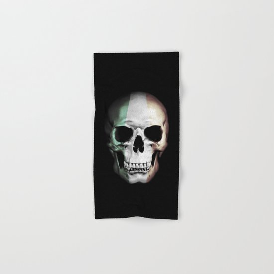 Irish Skull Hand & Bath Towel
