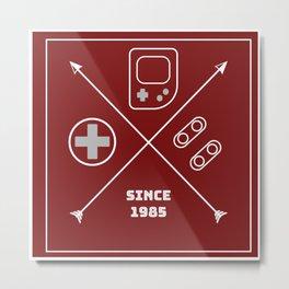 Nintendo Console Metal Print