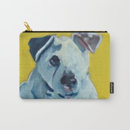 Beautiful Dolly the White Dog Carry-All Pouch