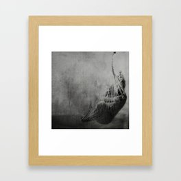 Now she's just somebody that I used to know Framed Art Print