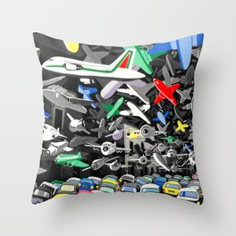 Osservatorio federiciano Throw Pillow