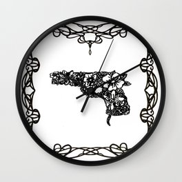 Life industrializes death Wall Clock