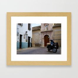 Vespa 2 Framed Art Print