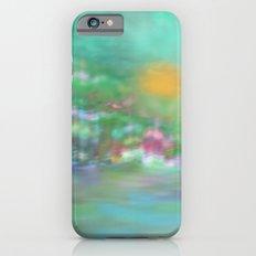 Landscape in Pastel Colors iPhone 6s Slim Case