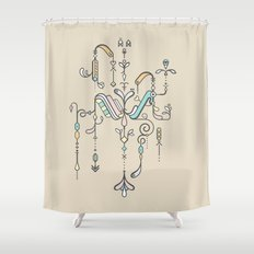TIOH TWO Shower Curtain
