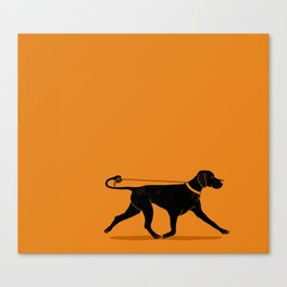 Pointer Canvas Print
