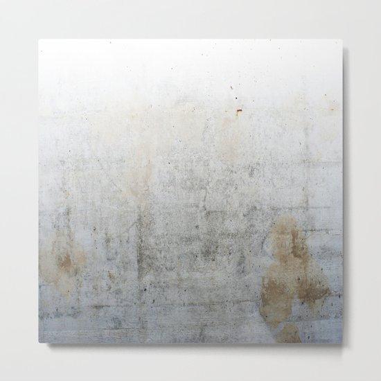 Concrete Style Texture Metal Print