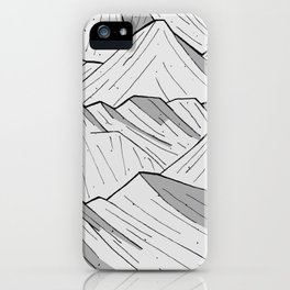 Big moon mounts iPhone Case