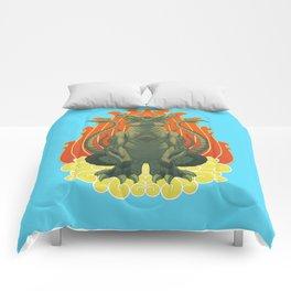 Slattern Tattoo design Comforters