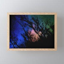 Angel Sky Framed Mini Art Print