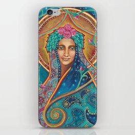 Shakti Creates by Justine Aldersey-Williams iPhone Skin