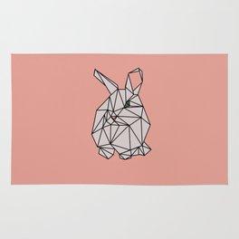 Geometric Bunny Rug
