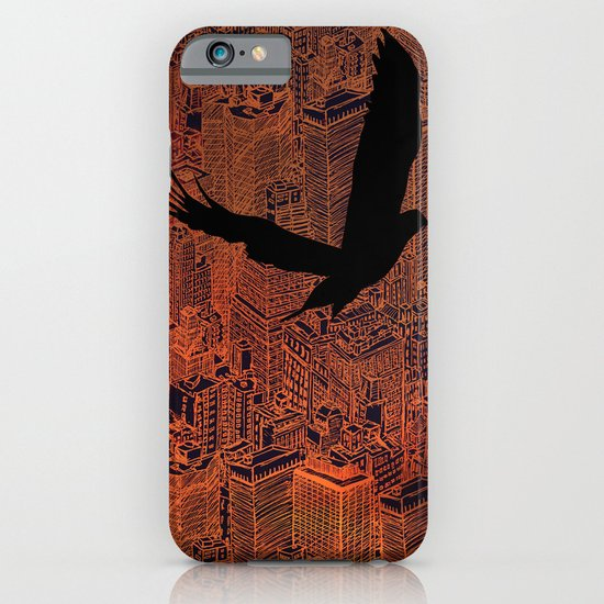 Ecotone (night) iPhone & iPod Case