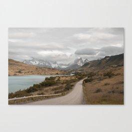CHILEAN ROADS Canvas Print