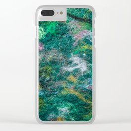 Felt Aurora Clear iPhone Case
