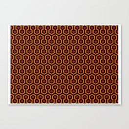 The Shining Carpet Canvas Print